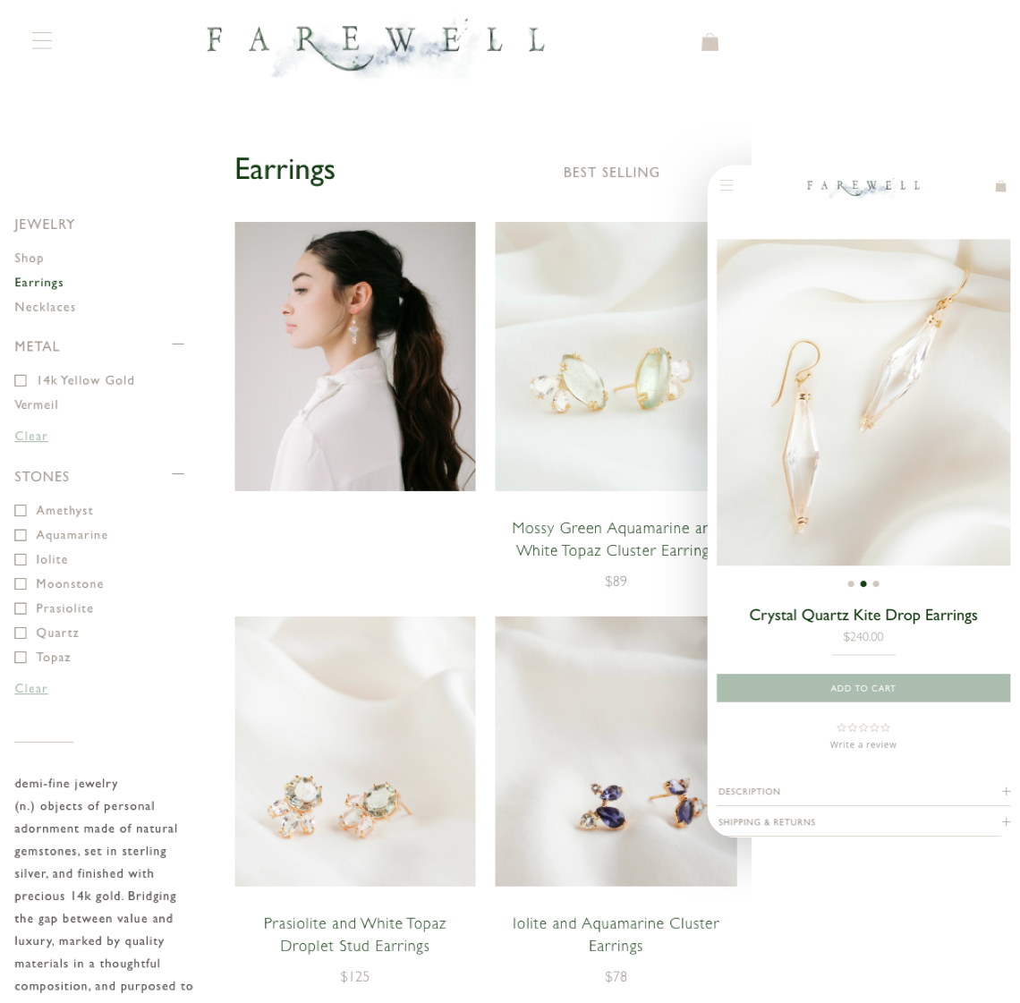 Farewell Jewelry - Mobile Devices