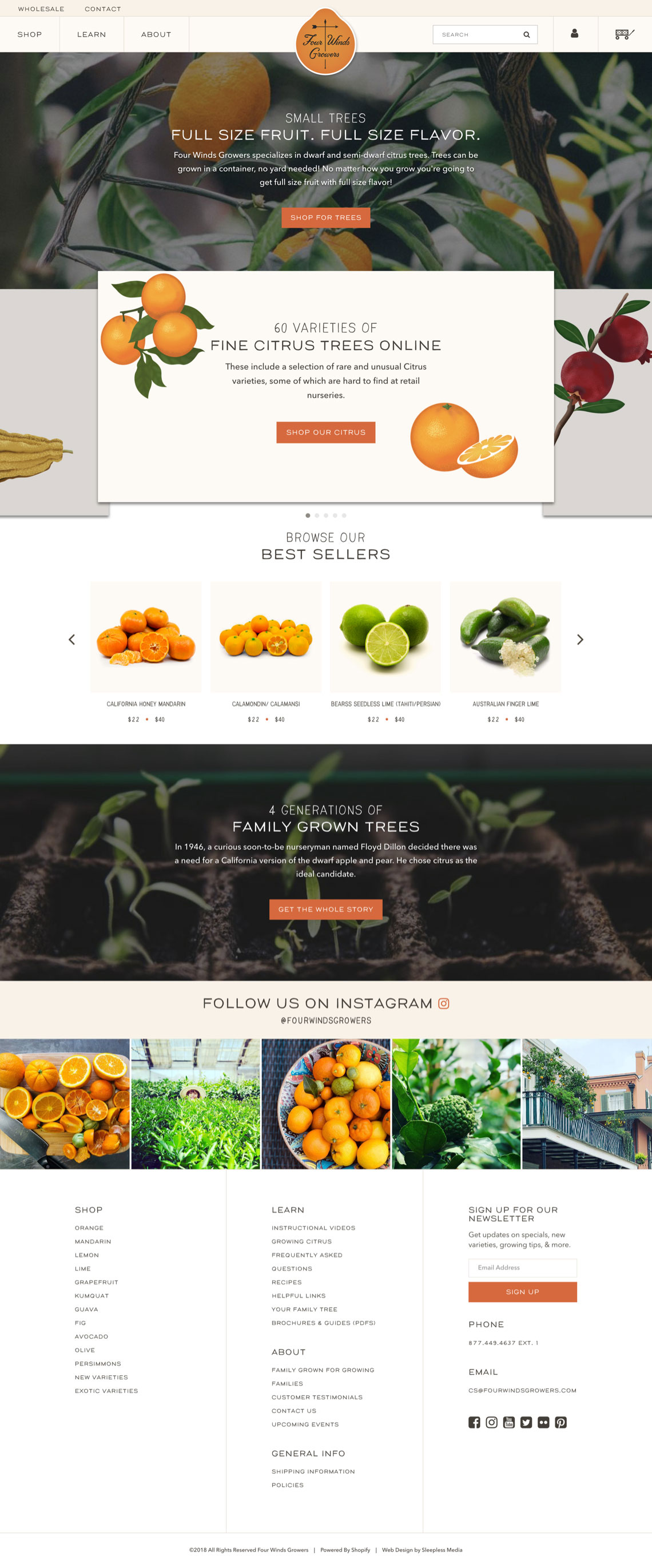 Four Winds Growers - Homepage