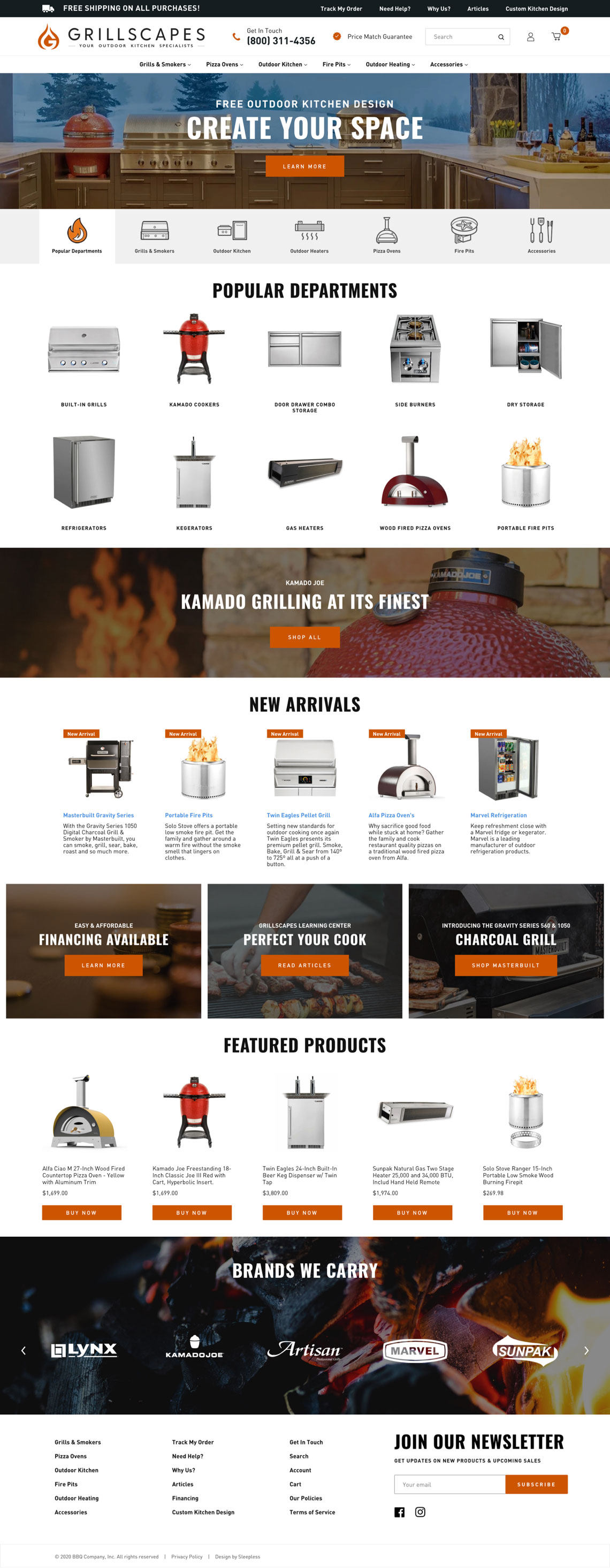 Grillscapes Homepage